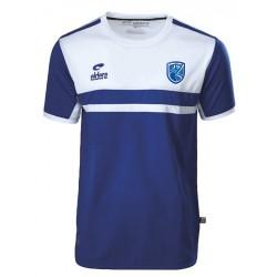 T-shirt ALLURE Royal/Blanc + Logo club